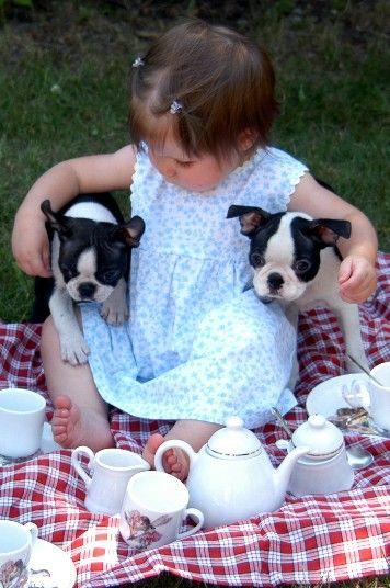 بالصور صور بدون تعليق , اطفال يعشقون الكلاب 10784 9