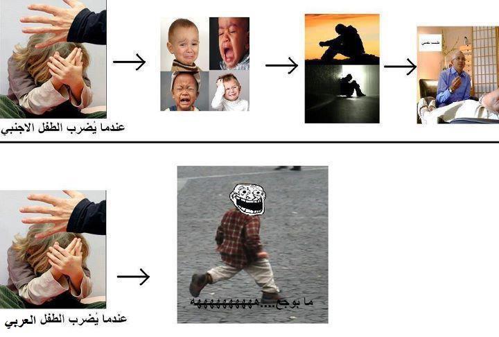 بالصور الفرق بيننا وبينهم , ضحكات بين العرب والغرب 10806 6