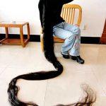اطول شعر فى العالم , وابداع المنان في خلق الانسان