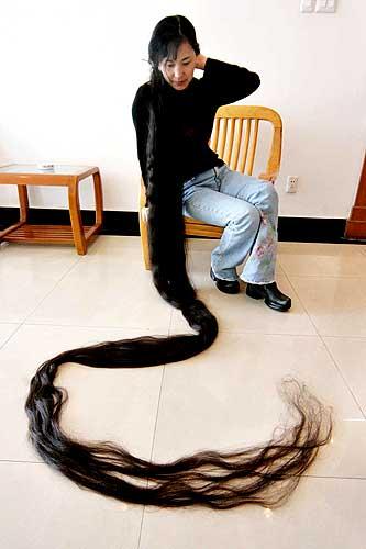 صور اطول شعر فى العالم , وابداع المنان في خلق الانسان