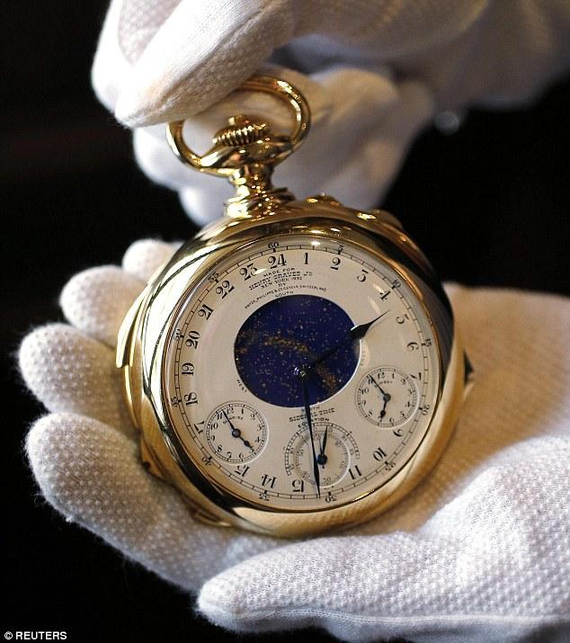 بالصور اغلى ساعة يد في العالم , وماركات تحطم الارقام القياسية 14931 5