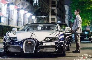 صورة سيارة ثري سعودي تجذب السياح في باريس , لقاء الثراء وانبهار التقدم