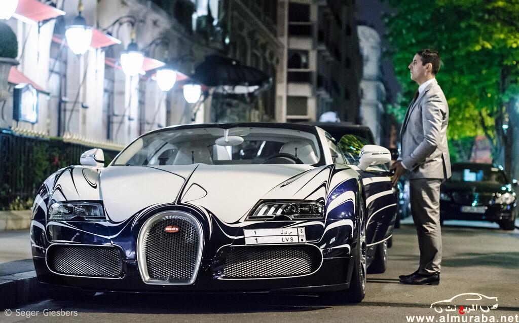 صوره سيارة ثري سعودي تجذب السياح في باريس , لقاء الثراء وانبهار التقدم