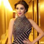 صور احدث ازياء فساتين ميريام فارس 2020 للحفلات للمناسبات , فستان سواريه