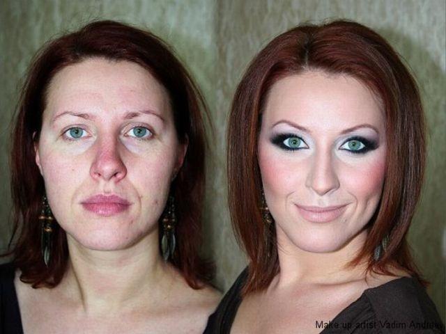 بالصور صور مكياج قبل وبعد , التجميل وتاثيره على السيدات 15045 5