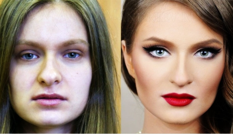 بالصور صور مكياج قبل وبعد , التجميل وتاثيره على السيدات 15045 9