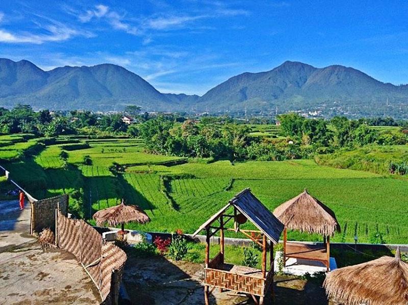 صوره الجبل الاخضر في اندونيسيا , اعلى جبل فى اندونيسيا