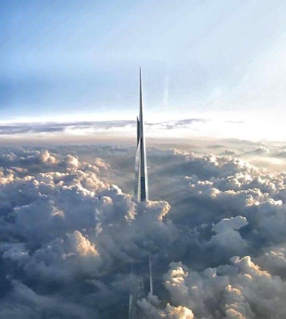 صورة اطول برج في العالم جده , والامارات