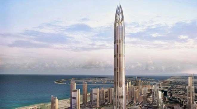 صورة اطول برج في العالم جده , والامارات 2516 9