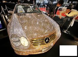 صورة سيارة من الماس , اغلى السيارات فى العالم